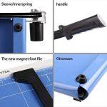 Massicot A3 12 Feuilles(70 g) Cisaille Base Taille Régularisable Cisaille Personnelle Papier ( A3, B4, A4, B5, A5, B6, B7) Machine de Coupe-papier Cutter Bleu de la marque Meditool image 1 produit
