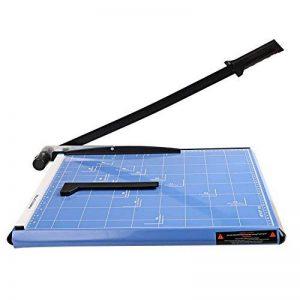 Massicot A3 12 Feuilles(70 g) Cisaille Base Taille Régularisable Cisaille Personnelle Papier ( A3, B4, A4, B5, A5, B6, B7) Machine de Coupe-papier Cutter Bleu de la marque Meditool image 0 produit