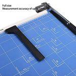 Massicot A3 12 Feuilles(70 g) Cisaille Base Taille Régularisable Cisaille Personnelle Papier ( A3, B4, A4, B5, A5, B6, B7) Machine de Coupe-papier Cutter Bleu de la marque Meditool image 2 produit