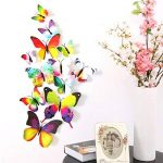 """McFanBe Mur Décor DIY Kraft Papier Photo Cadre avec Papillon Autocollant Jute Corde et Clips (5"""" Multicolor-1) de la marque image 6 produit"""