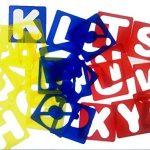 Meetory Sourcingmap Lot de 26Lettres de l'alphabet Pochoirs, guide de Lettrage pour peindre l'apprentissage DIY de la marque Meetory image 3 produit