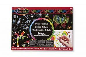 Melissa & Doug 15981 - Nécessaire Scratch Art - Combo de Luxe de la marque Melissa & Doug image 0 produit