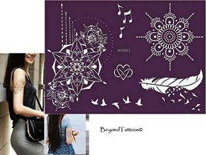 Micro Alimentation Tattoo Patrons pour le corps peints facilement et réutilisable ht001Mandala Ressort de la marque Beyond Paradise image 0 produit