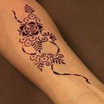Mikro Filet Tattoo vorlagen Pochoirs pour corps bemalung Autocollant simple et réutilisable 5Sheets Set Mandala de la marque Beyond Paradise image 2 produit