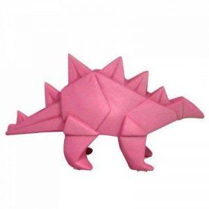 Mini veilleuse lampe dinosaure stégosaure origami rose pour chambre d'enfants - House of Disaster - LEDDINPK de la marque House of Disaster image 0 produit