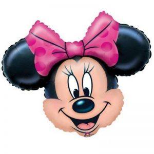 Minnie Mouse Est à la tête du Ballon de Papier d'aluminium de Superforme de la marque TOYLAND image 0 produit