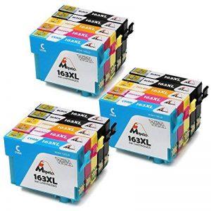 Mipelo 15 Pack Compatible Epson 16 16XL Grande Capacità Cartouches d'encre Compatible avec Epson Workforce WF-2630WF WF-2510WF WF-2760DWF WF-2660DWF WF-2750DWF Imprimante de la marque Mipelo image 0 produit