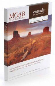 Moab Entrada Rag Natural 300g ERN300A425 Papier jet d'encre en coton A4 Double Face 25 feuilles de la marque Moab image 0 produit