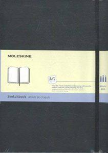 Moleskine Carnet de croquis Format A4 Couverture rigide noire 21 x 29,7 cm de la marque Moleskine image 0 produit