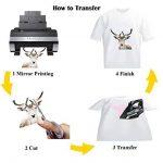 Mr-Label Papier de sublimation A4 - Feuilles de transfert de presse à chaud - Transferts thermocollants (100 feuilles) de la marque Mr-Label image 4 produit