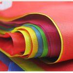 Multicolore fanions 100m 150drapeaux en nylon Guirlande Fanion Banderole Triangle Drapeau de décoration pour mariage fête d'anniversaire Jardin de la marque image 1 produit