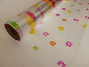 Multicolore Marguerite Cellophane Rolls - Diverses Longueurs - Film Cadeau Rouleau - multicolores, 25 Metres x 80cm de la marque Gem image 0 produit