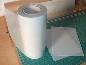 Mylar pochoir rouleau 125 microns vendus au mètre x 600mm - sérigraphie pages pas cher de la marque Mylar image 0 produit