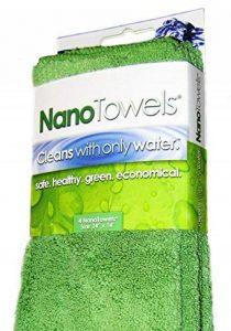 Nano Towels La serviette respectueuse de l'environnement sans produits chimiques. Comme à la télé! La technologie de tissu révolutionnaire se nettoie avec de l'eau seulement. Elle remplace les serviettes en papier, les éponges, les chiffons de nettoyage, image 0 produit