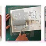 NAUTIQUE nurserie étoile pochoir nurserie MURAL DE MAISON Décoration & artisanat pochoir peinture murs Fabrics & Meuble 190 Mylar réutilisable pochoir - demi transparent pochoir, S/17X17CM de la marque Ideal Stencils image 4 produit