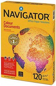 Navigator NAV1030 Ramette de 500 feuilles de papier A3 pour documents en couleur 120 g/m² (Blanc) de la marque NAVIGATOR image 0 produit