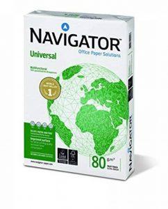Navigator Universal - Papier universel 80 g/m², format A4, 5 x 500 feuilles, blanc de la marque Antalis image 0 produit