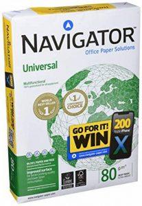 Navigator Universal - Papier universel 80 g/m², format A4, 500 feuilles, blanc de la marque NAVIGATOR image 0 produit