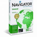 Navigator Universal - Papier universel 80 g/m², format A4, 500 feuilles, blanc de la marque NAVIGATOR image 1 produit