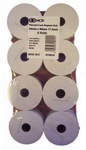 NCR Lot de 8 rouleaux de papier pour caisse enregistreuse 44x 80mm de la marque NCR image 0 produit