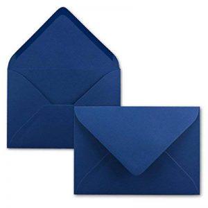 Neuser Enveloppes colorées C5229x162mm avec fermeture adhésive, transparentes. 100 Umschläge 17-Nachtblau de la marque Neuser image 0 produit