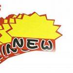 NEW motif jaune papier Panneau Publicitaire Lot de 10étiquettes prix pour Supermarché de la marque Sourcingmap image 1 produit