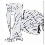 Nips 118725201 Pack de 250 feuilles de papier d'emballage 50 x 75 cm (Gris) (Import Allemagne) de la marque Nips image 3 produit