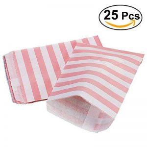 NUOLUX 25pcs partie Favor sacs régal dépouillé alimentaire sac pochette sacs en papier Kraft (gris) de la marque NUOLUX image 0 produit