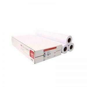 OCE ijm02190g/m2papier standard 610mm x 50m 1rouleau pack de 3 de la marque Canon image 0 produit