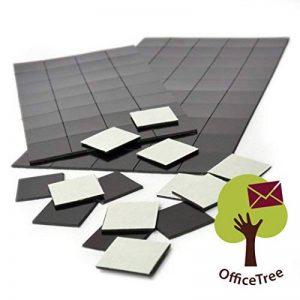 Office Tree® 2x 50-20x 20mm-Autocollant aimant pour magnetisierung sécurisée de Affiches Photos Papier-Extra forte adhérence à tableau blanc Tableau blanc magnétique tableau-Noir de la marque OfficeTree image 0 produit