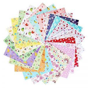 Ofoen Origami, 144Feuilles de papier craft pliante Origami Lavage pliable papier, 15x 15cm de la marque ofoen image 0 produit