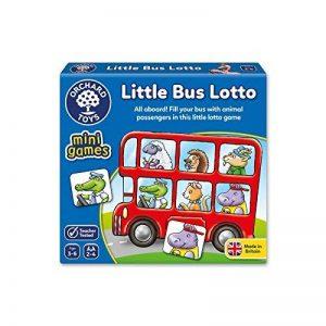 Orchard Toys Little Bus Lotto Mini/Jeu de Voyage de la marque Orchard Toys image 0 produit