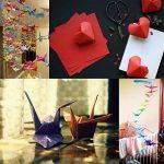 Origami Feuilles carrées d'Origami Papier Coloré pour Bricolage Artisanat Art 200 Feuille 50 Couleur Vif de la marque ULTNICE image 1 produit