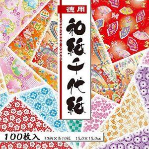 Origami japonais Washi papier pliable (018033) de la marque Origami image 0 produit