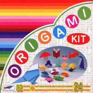 Origami Loisirs - Loisirs Créatifs - Origami Kit 24 Modèles - Notice Illustrée + 82 Feuilles de Papier Origami - 15cm x 15cm de la marque Origami Loisirs image 0 produit
