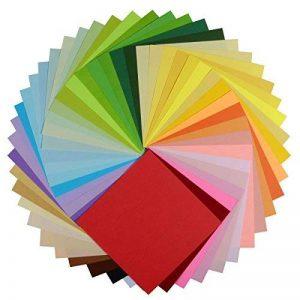 Origami Paper, Nexlook supérieure recto verso 250feuilles 50couleurs vives carré DIY pliante Origami Grue pour arts Crafts projets [15,2x 15,2cm] de la marque Nexlook image 0 produit
