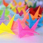 Origami,Papier origami 100 Feuilles Origami Set 50 Couleurs pour Projet Art and Craft 15x15CM Carré pour les Enfants et Adultes de la marque Febbya image 1 produit