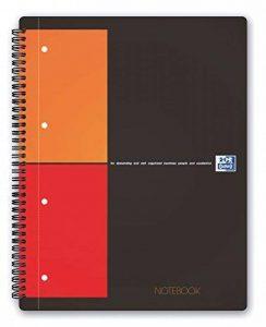 Oxford International Notebook Cahier A4+ 80 Pages Petits Carreaux 5x5 de la marque Oxford image 0 produit