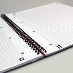 Oxford International Notebook Cahier A4+ 80 Pages Petits Carreaux 5x5 de la marque Oxford image 2 produit