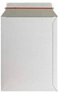 Oxford Lot de 3 enveloppes dos cartonné 248x350mm kraft blanc de la marque Oxford image 0 produit
