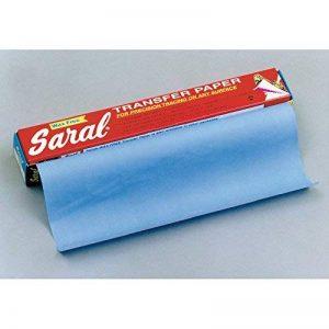 Oz International Papier transfert Saral 12 feuilles 45 x 61 cm Bleu de la marque Oz International image 0 produit