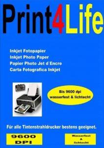 P4L - 100 feuilles papier photo glacé haute 10x15 DIN A6 260g / m² de la marque trucol image 0 produit