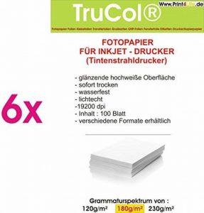 P4L – Papier photo Premium 600 feuilles A4 180gsm résistant à l'eau glacée Highglossy de la marque trucol image 0 produit