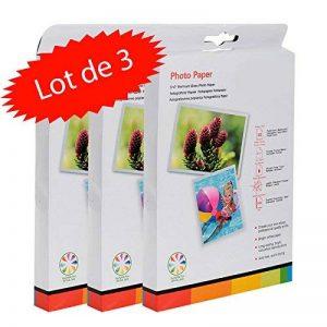 Pack de 150 Feuilles de Papier Photo 13x18 cm Brillant 260 GR de la marque LCD image 0 produit