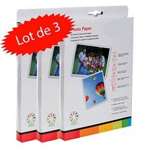 Pack de 150 Feuilles de Papier Photo 15x21 cm Brillant 260 GR de la marque LCD image 0 produit