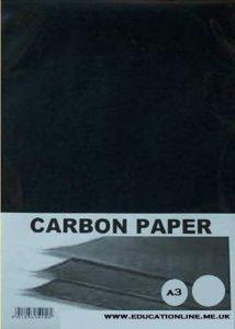 Pack de 20 feuilles de Papier Carbone A3 de couleur - Noir de la marque image 0 produit
