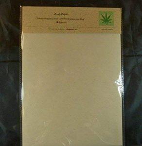 paperfreak: Notice de chanvre Papier avec 1bütten bord papier parchemin Papier à lettre A410'80gr' Arc–Hemp Paper de la marque tribal paper image 0 produit