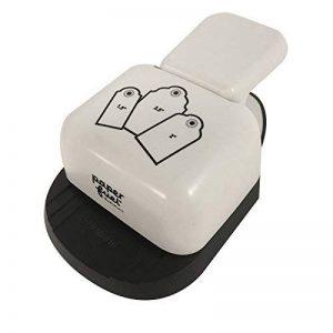 Paperfuel Perforatrice Etiquette 3 en 1, Plastique/Métal, Blanc, 14 x 8 x 5 cm de la marque Paperfuel image 0 produit