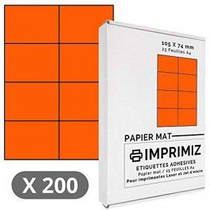 papier a4 orange TOP 8 image 0 produit
