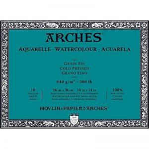 papier aquarelle arches grain fin TOP 11 image 0 produit